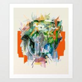 Mental Passageways Art Print
