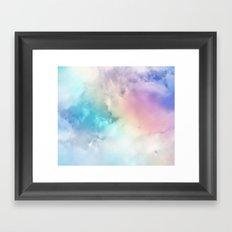 BLUEBIRDS FLY Framed Art Print