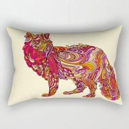 Fox by Day Rectangular Pillow