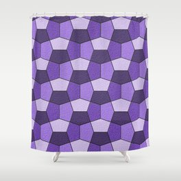 Geometrix VII Shower Curtain
