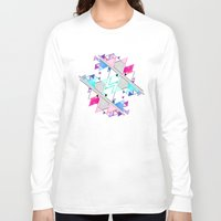 bright Long Sleeve T-shirts featuring Bright by Jozi