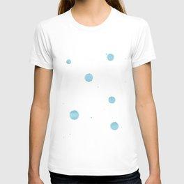 Mint drops watercolor T-shirt