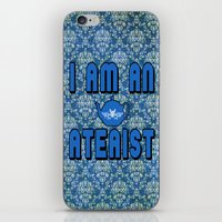 atheist iPhone & iPod Skins featuring Ateaist by Irina Chuckowree