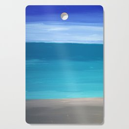 Abstract Sea Cutting Board