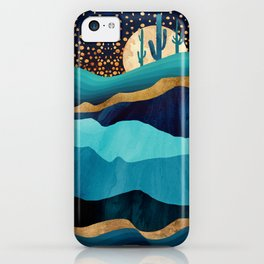Indigo Desert Night iPhone Case