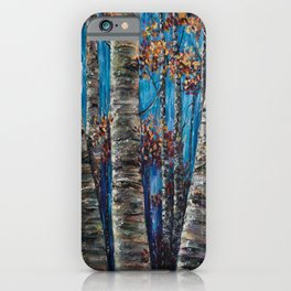 Aspen Forest In The Rocky Mountain iPhone Case