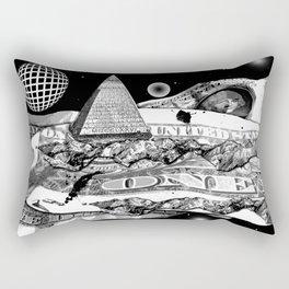 One Nation Under Con Rectangular Pillow