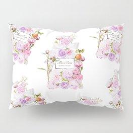 Parfum Perfume Fashion Floral Flowers Blooming Bouquet Pillow Sham
