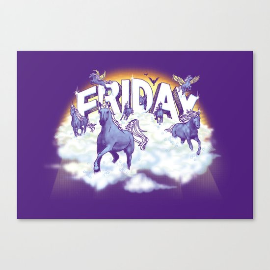 Friday! Canvas Print