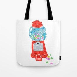 Bubble gum machine. Tote Bag