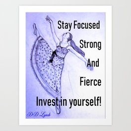 Invest In Yourself Art Print