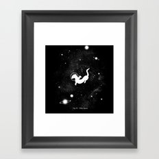 Otter Space Framed Art Print