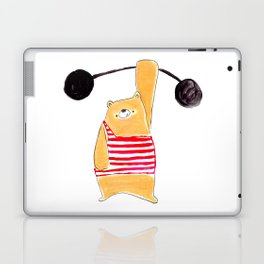 We love a strong man beary much Laptop & iPad Skin