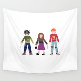 Harry, Hermione, and Ron Wall Tapestry