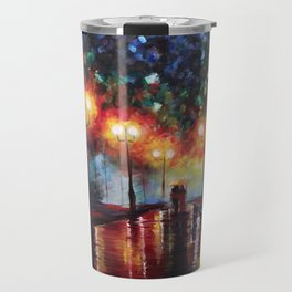 Ted and Tracy Mosby Travel Mug