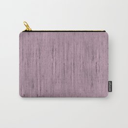 Pale Pink Stone Structure Carry-All Pouch