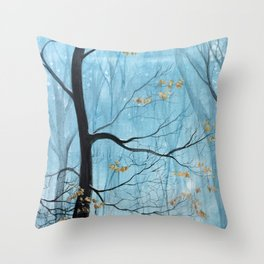 From the end to the beginning Throw Pillow