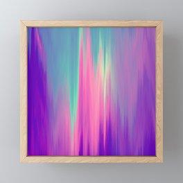 Beautiful Mermaid Colors Framed Mini Art Print