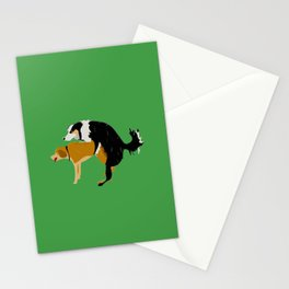 DOGS MATE SEX MAKE LOVE Stationery Cards