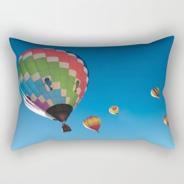 Balloons on Blue Rectangular Pillow