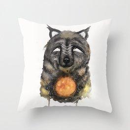 Copernicus the Sun Bear. Throw Pillow