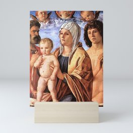 Giovanni Bellini - Madonna and Child with St Peter and St Sebastian Mini Art Print