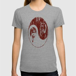 Yin Yang Horror - dark print T-shirt