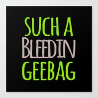 tote bag Canvas Prints featuring SUCHA TOTE BAG by Amanda C Hughes