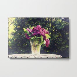Lilac Bouquet Metal Print