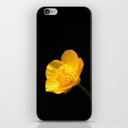 Buttercup Flower iPhone Skin