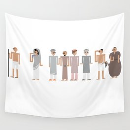 The Salt March Wall Tapestry
