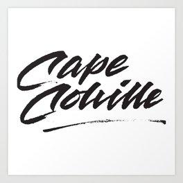 Cape Colville. Art Print