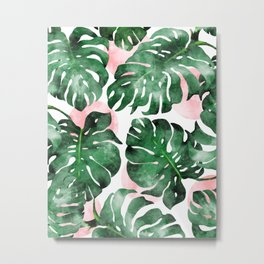 Stay Rooted In Your Power #tropical #painting Metal Print