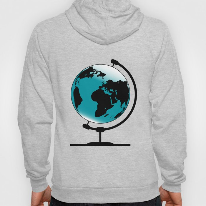 Mounted Globe On Rotating Swivel Hoody