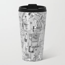 power tools black white Travel Mug