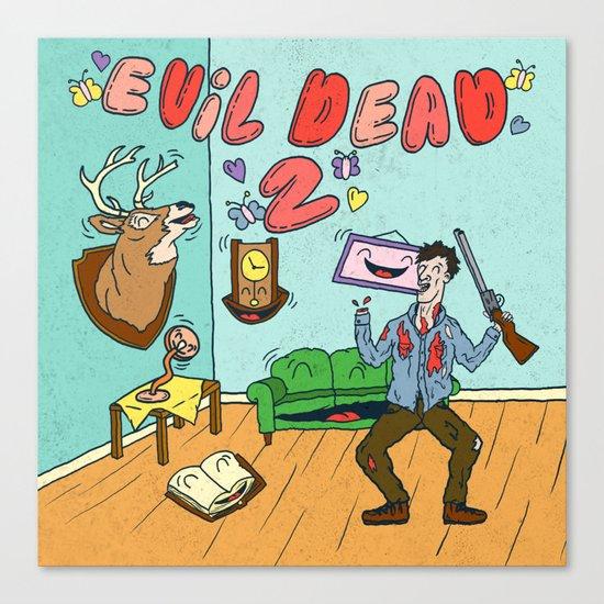 ♥ EVIL DEAD 2 ♥ Canvas Print