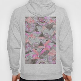 Abstract marble geo 001 Hoody