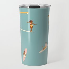 Surf girls Travel Mug