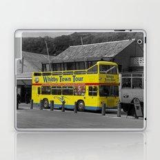 Whitby Town Tour Bus Laptop & iPad Skin