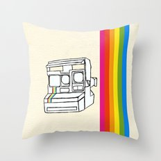 Polaroid  Throw Pillow