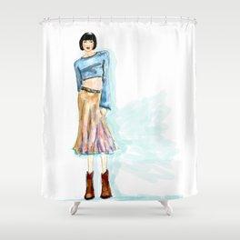 Fashion Killa Shower Curtain