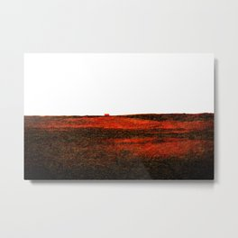 Red landscape Metal Print