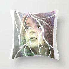 Pieces Throw Pillow