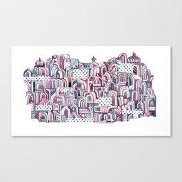 Maroon Castle Canvas Print