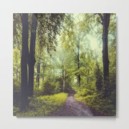 Dreamy Forest Metal Print