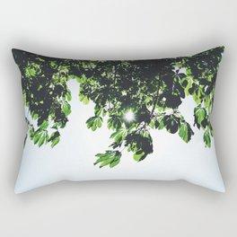 Through the Leaves Rectangular Pillow