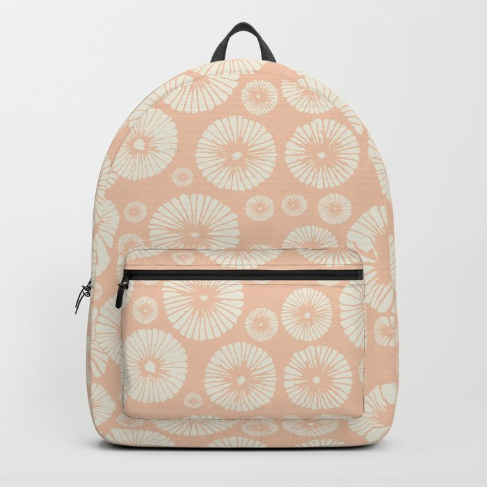 Pink Flowers on Tropical Blush Backpack