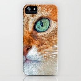 EYE CAT-CHING iPhone Case
