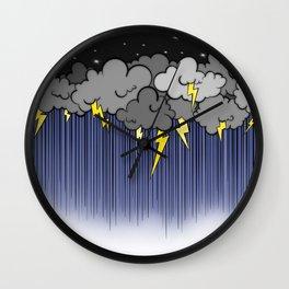 Storm on a teacup Wall Clock