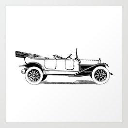 Old car 5 Art Print